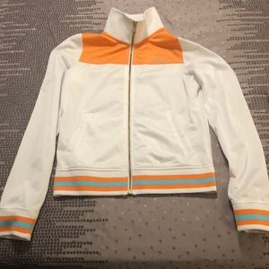Le Tigre Women's The Classic Jacket-White/Orange